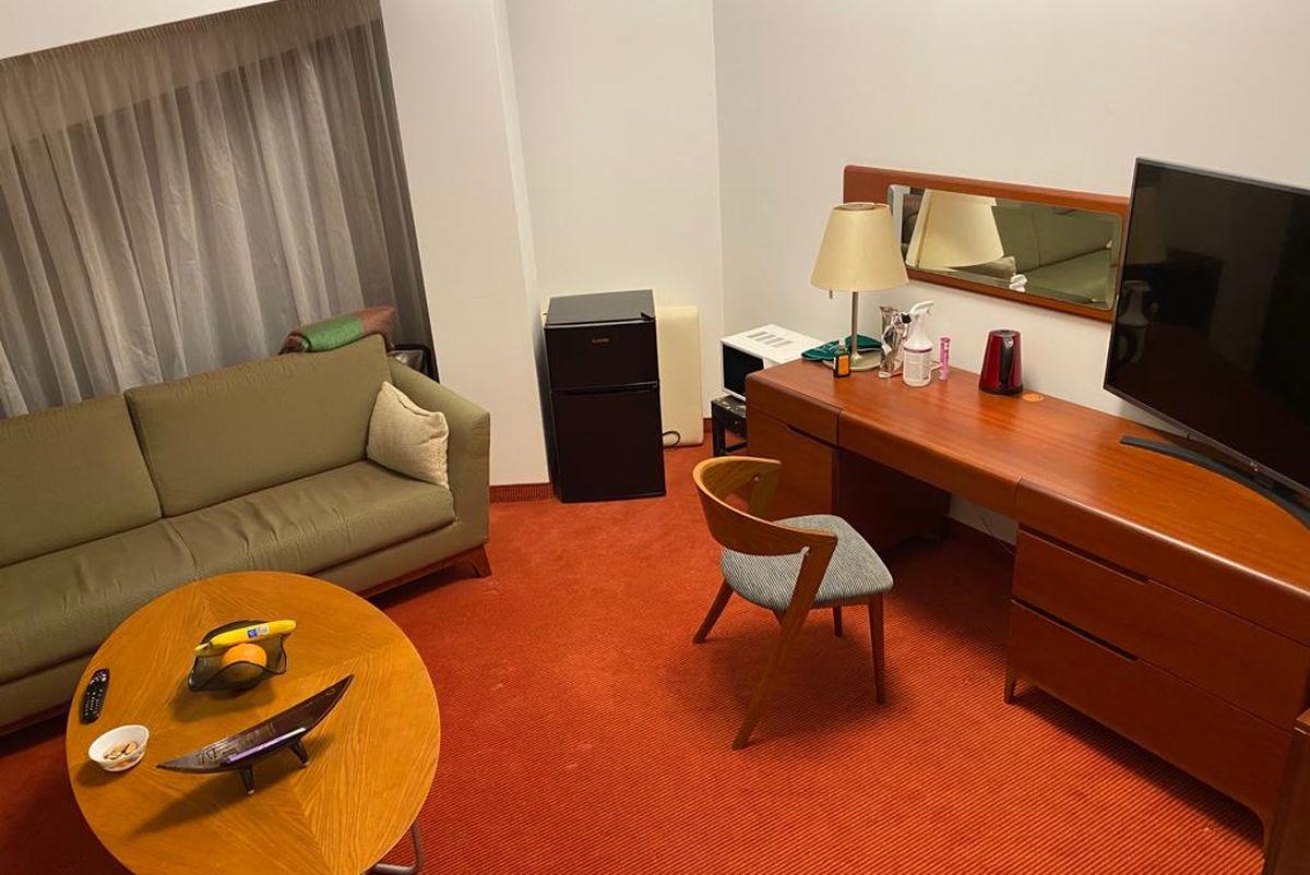 Гостиничный номер, где живет Сергей. Фото: архив Сергея ПАНАСЕНИ