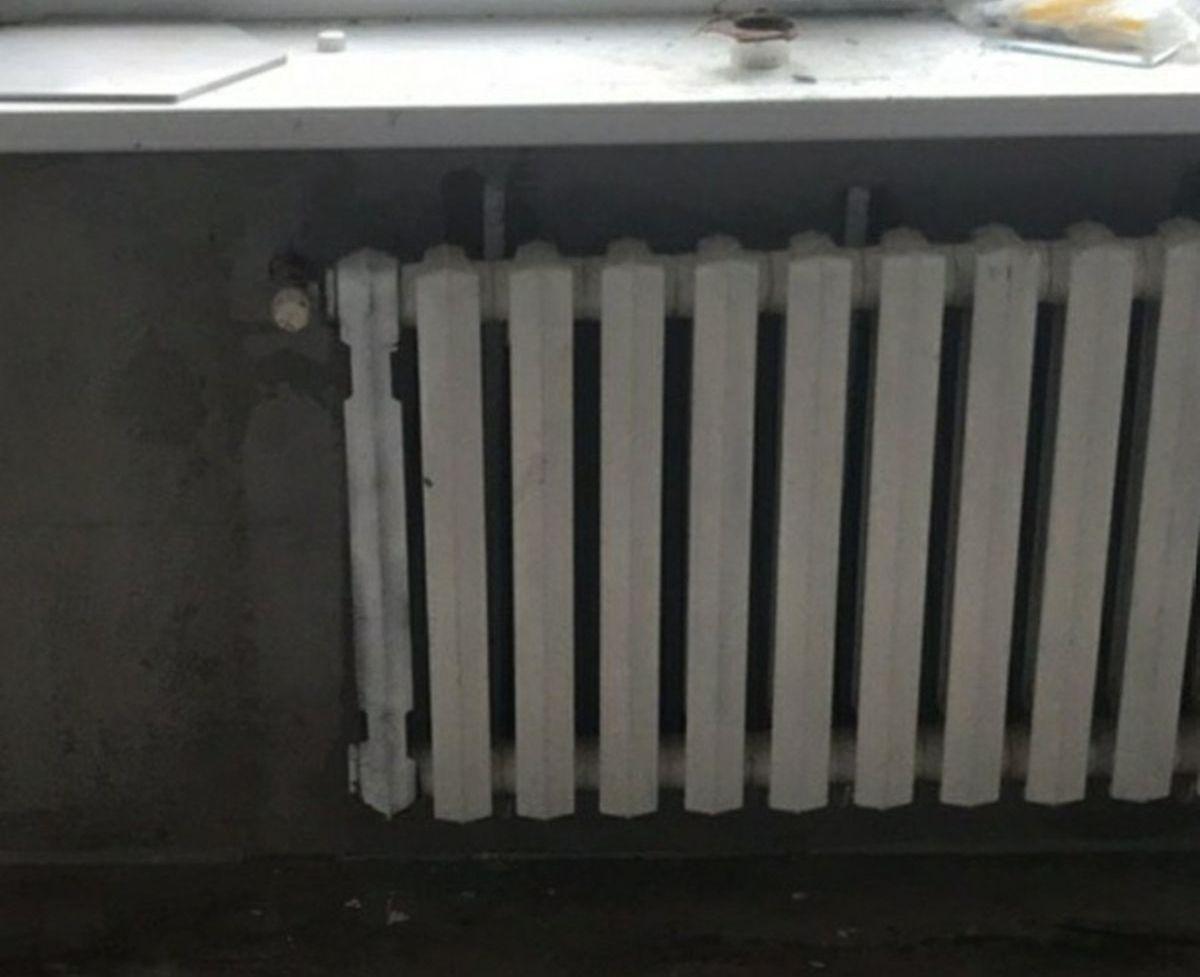 Радиатор после «ремонта». Фото: архив семьи ЖИГАРЕВИЧ