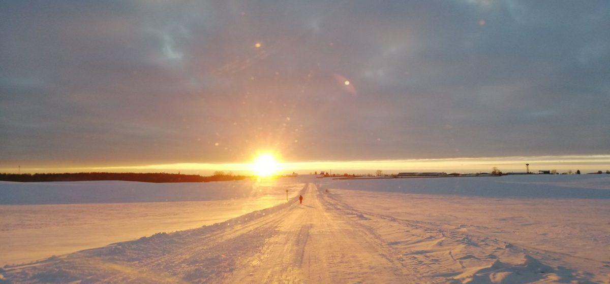 Внимание! С утра сильный мороз! Погода в Барановичах 19 февраля