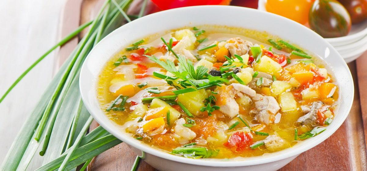 Вкусно и просто. Куриный суп с овощами
