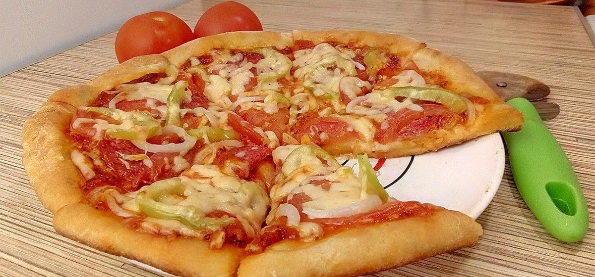 Вкусно и просто. Пицца на кефирном тесте