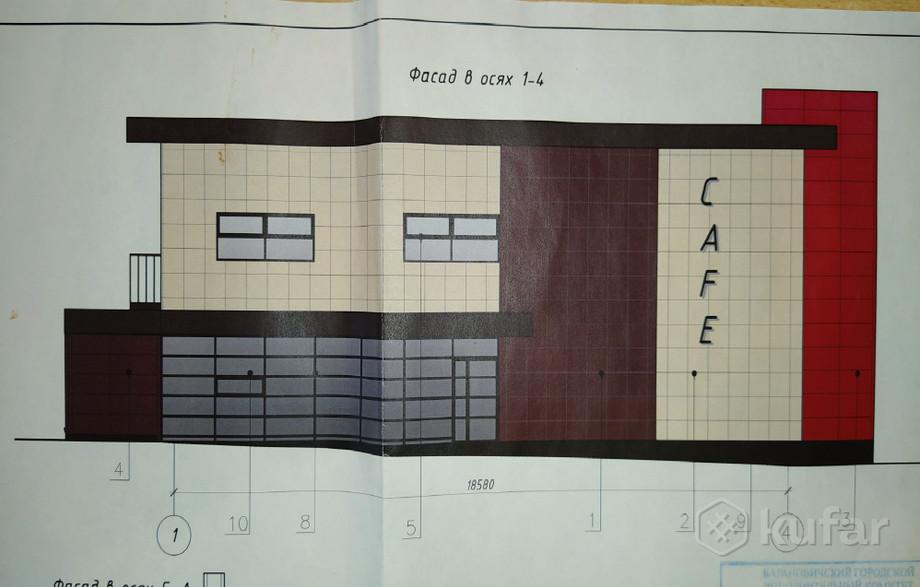 Проект кафе, которое хотели строить в Северном микрорайоне.