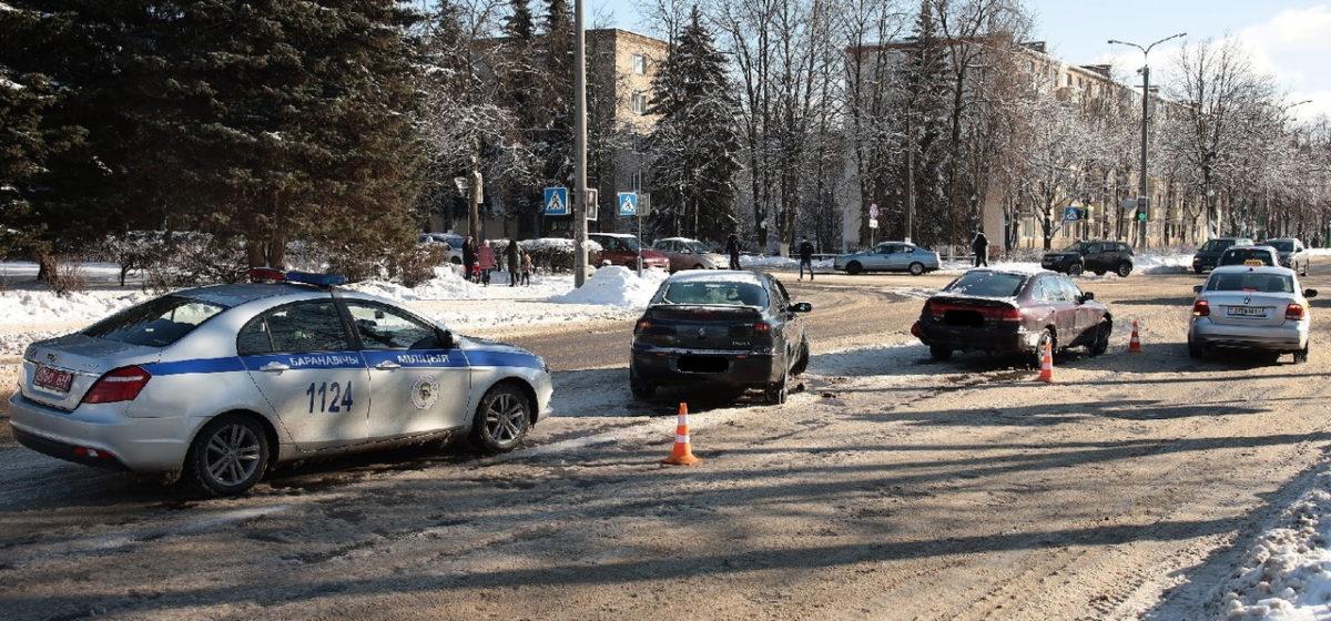 Три ДТП в одно время произошло в разных районах Барановичей
