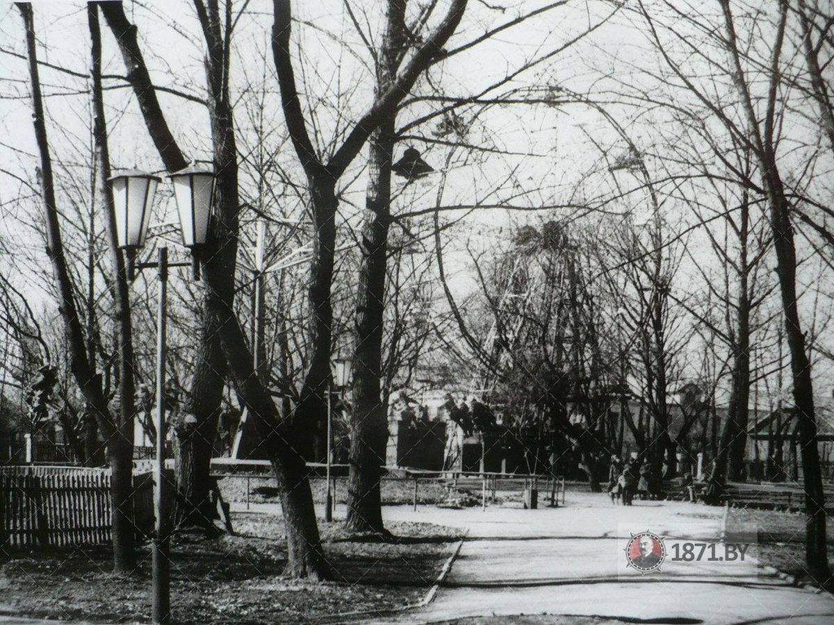 1985 год. Колесо обозрения. Фото: сайт 1871.by