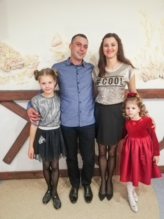 Александр и Ольга Лисок с детьми. Фото: архив героев статьи