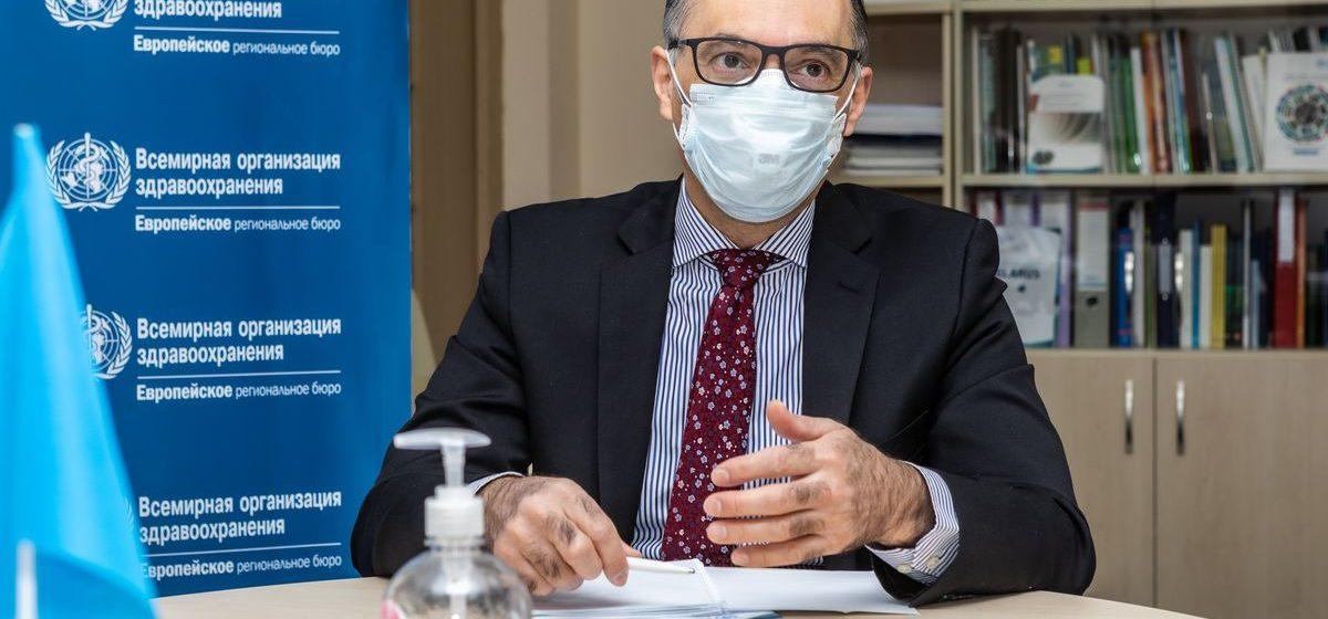 Глава бюро ВОЗ в Беларуси: «Возможно, в 2022 году мы сможем сказать, что с пандемией покончено»