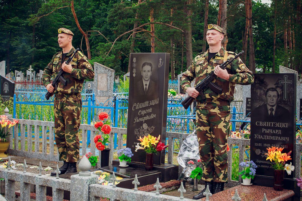 Могила Сергея Свентецкого. Фото: архив Intex-press