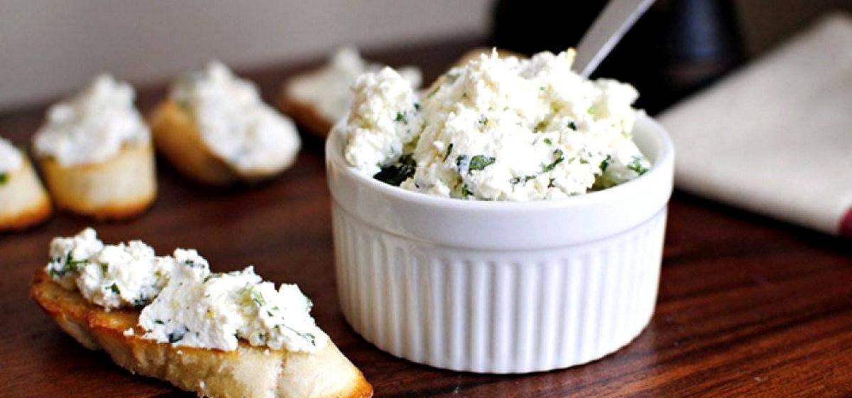 Вкусно и просто. Творожная паста с зеленью для бутербродов