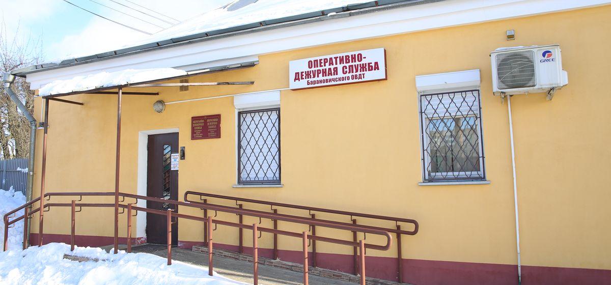 Дежурное отделение Барановичского ОВДТ на вокзале Барановичи-Полесские. Фото: Никита ПЕТРОВСКИЙ