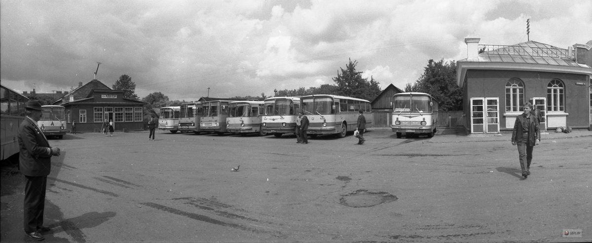 1985 год. Автостанция на улице Притыцкого. Фото: сайт 1871.by