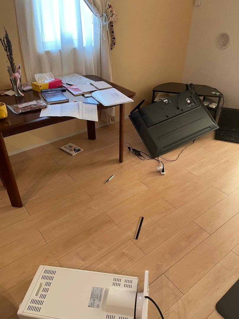 Последствия землетрясения в Мияги. Фото: Алина СЕВЕЦ
