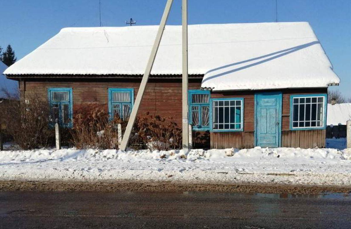 Здание бывшей библиотеки для взрослых в г.п. Городище Барановичского района. Фото: au.nca.by