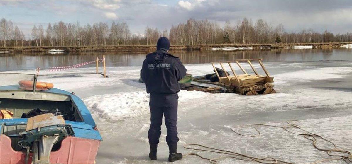 Десятилетний мальчик провалился под лед и погиб в Бобруйске
