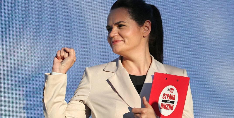 Тихановская анонсировала «главное заявление семи месяцев». Смотрите выступление онлайн