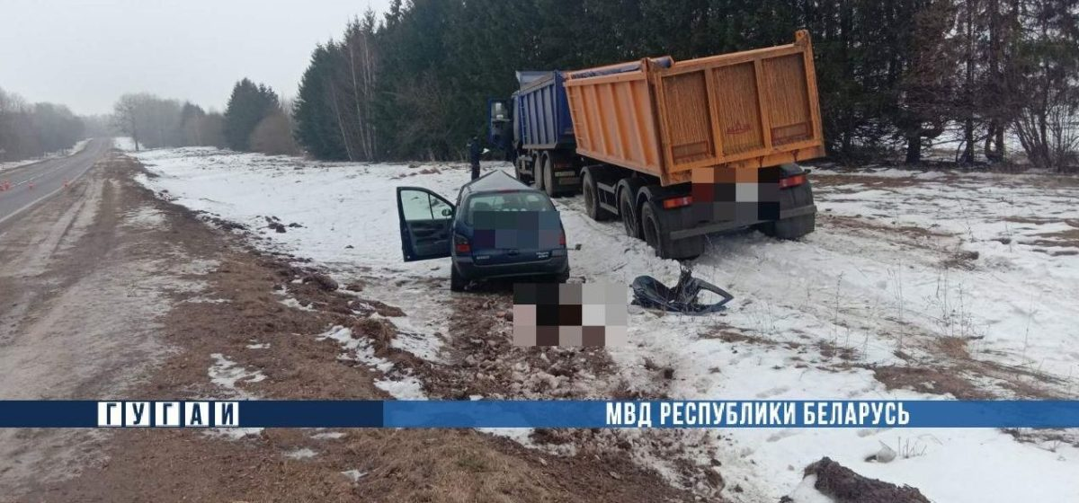Смертельное ДТП на трассе Осиповичи ‒ Барановичи