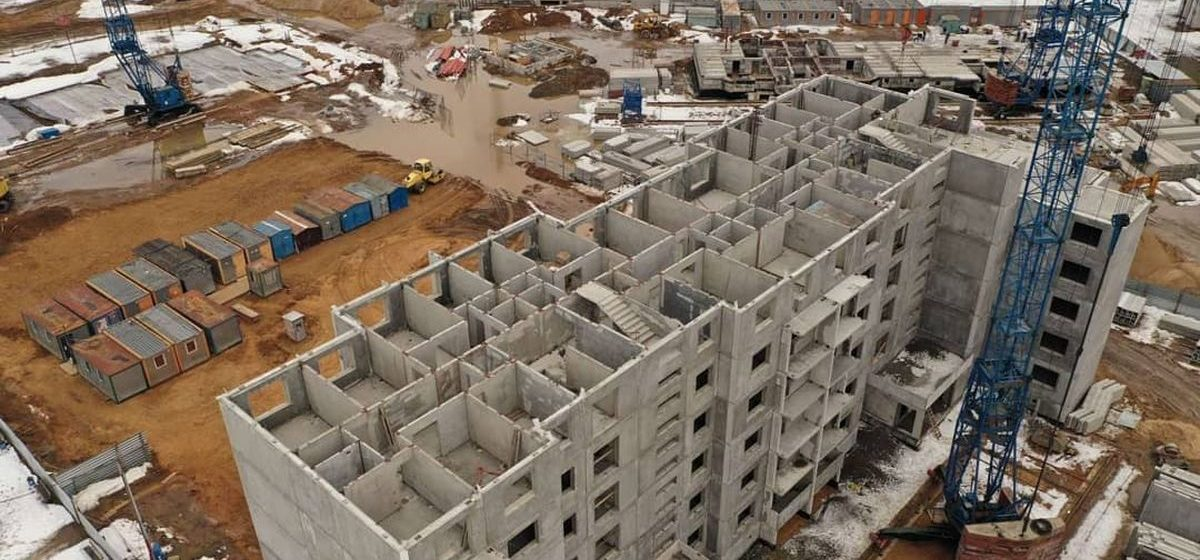 Стало известно, когда построят новые многоэтажки в Боровках в Барановичах
