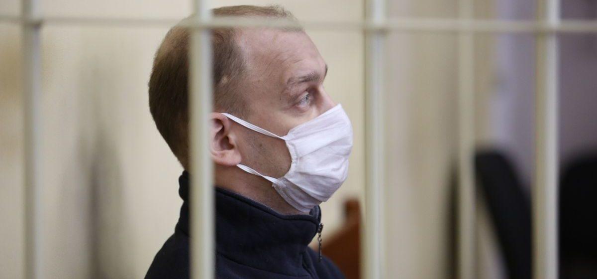 Сбитого 9 августа автозаком Егора Сугойдя на два года отправили за решетку