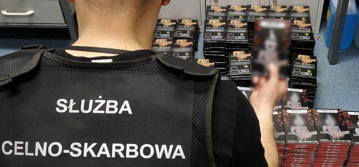 Нелегально провезти в Польшу 68 кг табака для кальянов пытался житель Беларуси