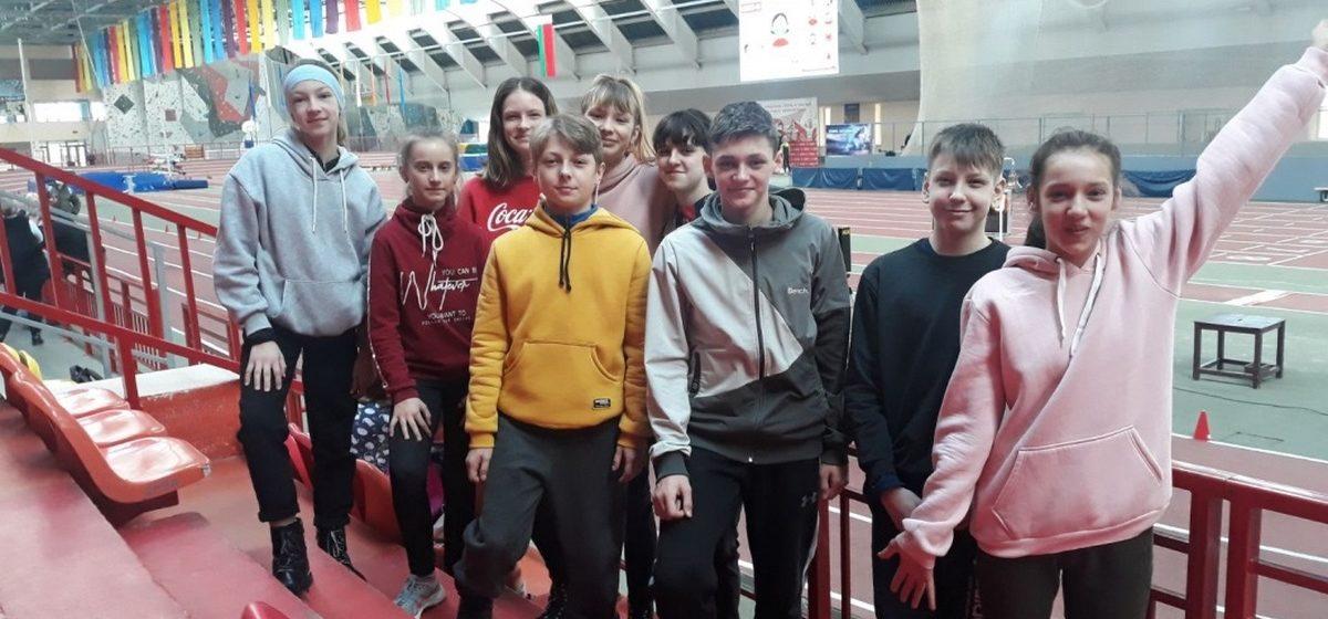 Барановичские легкоатлеты стали первыми в Брестской области