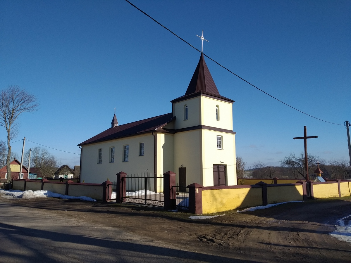 Костел святой Эльжбеты и Милосердия Божьего. Фото: Никита ПАСТУХОВ