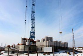 Как идет строительство новой церкви в Барановичах. Фотофакт