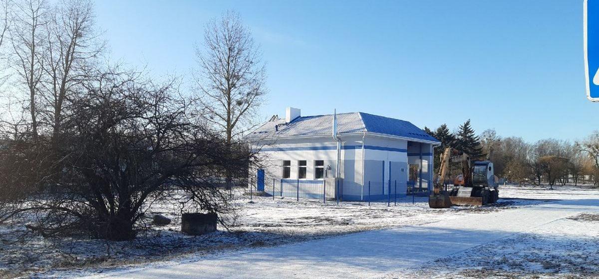 Что за здание построили около кольца на улице Брестской в Барановичах?