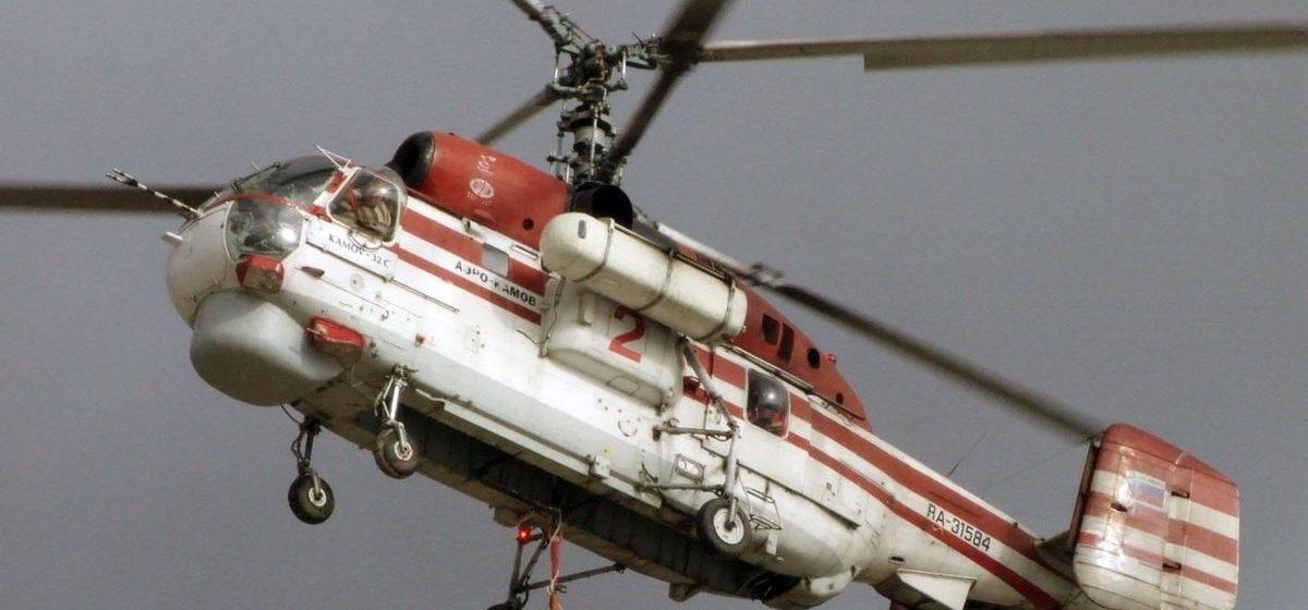 Транспортный вертолет упал в акватории Куршского залива под Калининградом — погиб бортмеханик