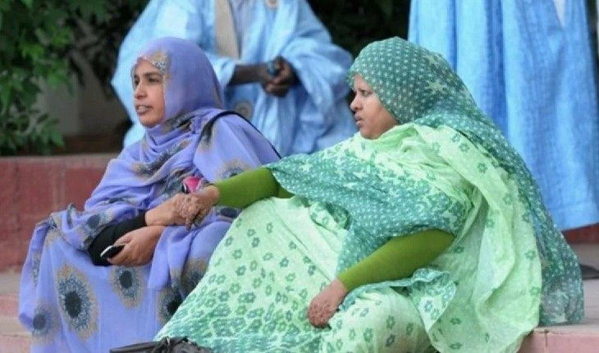 Мавританским женщинам приходится полнеть, чтобы соответствовать стандартам.
