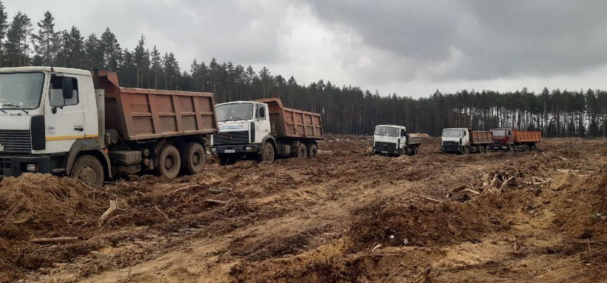 Как идет строительство нового городского кладбища для Барановичей