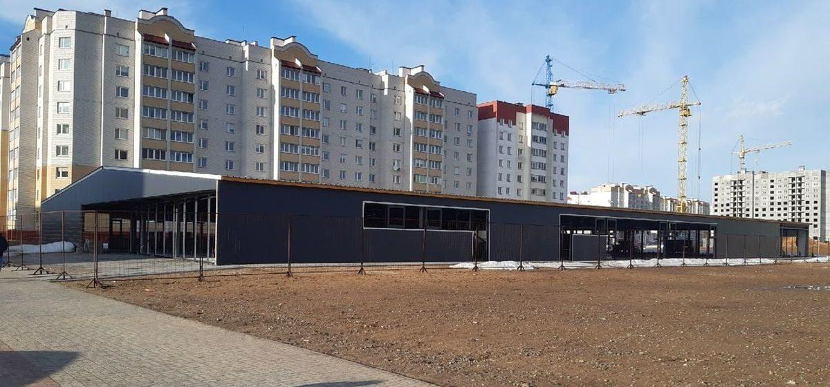 Как выглядит строящийся в Барановичах ФОК. Фотофакт