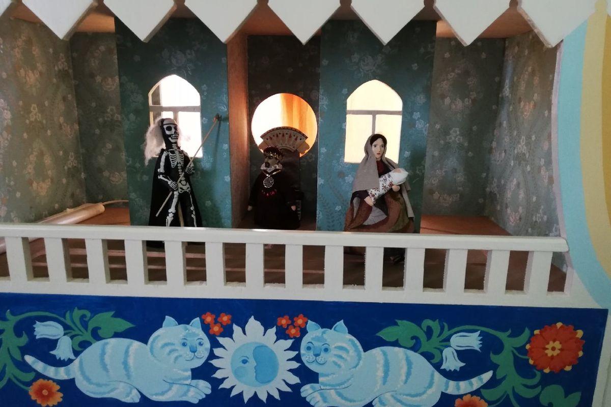Куклы для спектакля «Царь Ирод». Фото: Кристина СОБИНСКАЯ