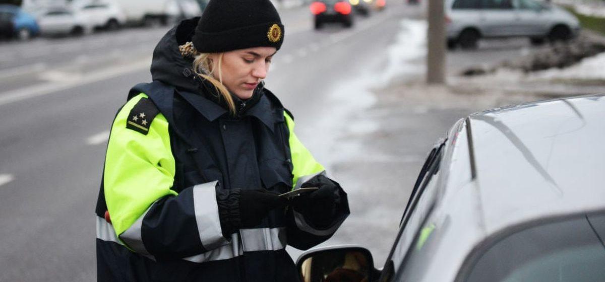 Сколько водителей-бесправников было задержано на дорогах Брестской области с начала года