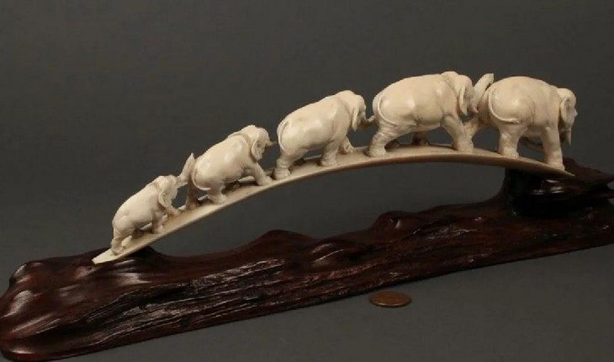Жители Литвы не обрадуются изделиям из слоновой кости.