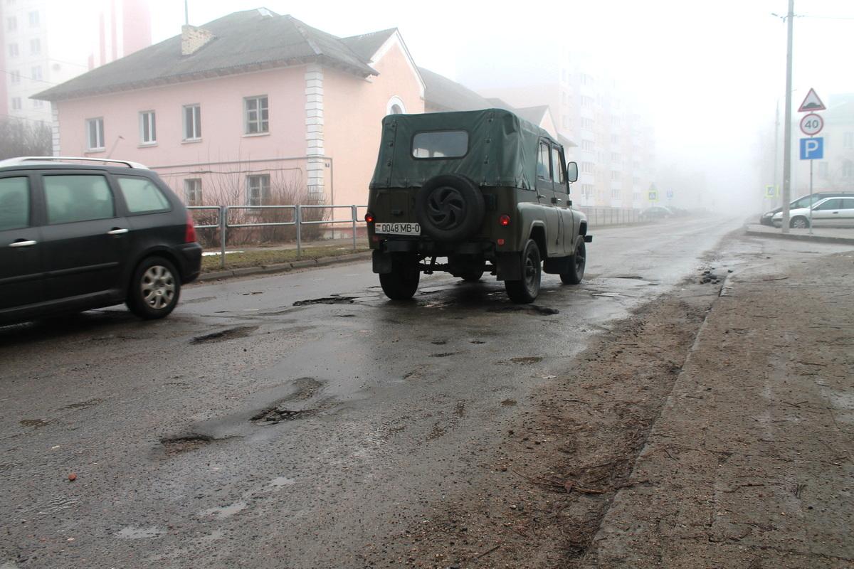 Улица Заслонова. Фото: Татьяна МАЛЕЖ