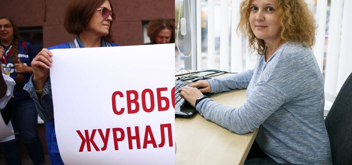 Задержаны редакторы TUT.BY Анна Калтыгина и Галина Уласик