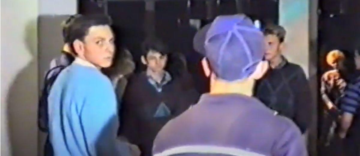 Дискотека и разборки с милицией в 1990 году в Барановичах. Эксклюзивное видео