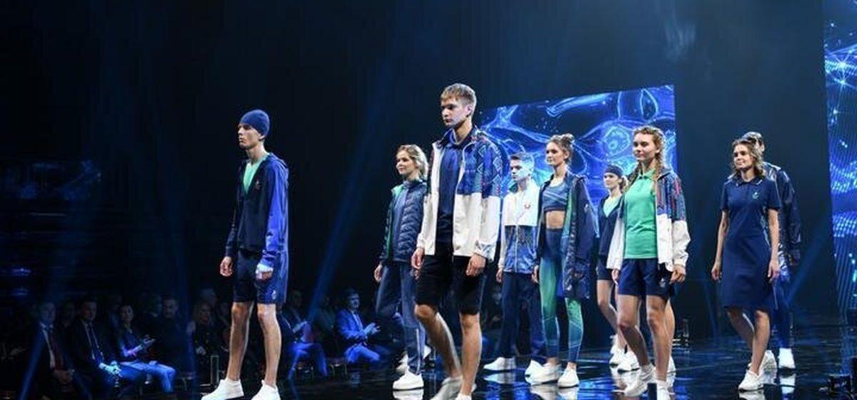 Смотрите, как выглядит форма белорусских спортсменов, которые будут выступать на Олимпиаде в Токио