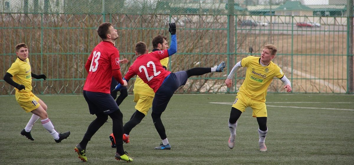 ФК «Барановичи» едва не победил в Слониме, но гол не засчитали
