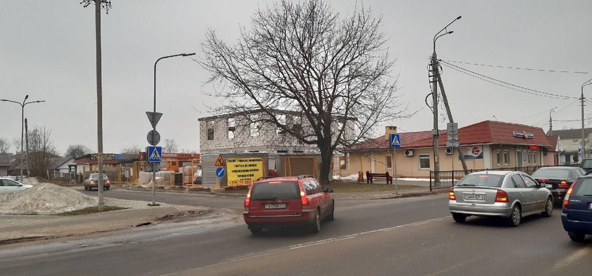 Что строят на улице Тельмана в Барановичах?