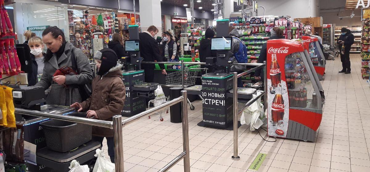 Новый для города сервис запустили в одном из магазинов Барановичей