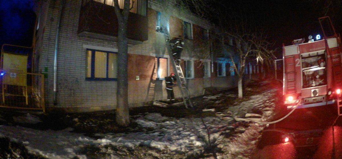 Квартира горела в Барановичах