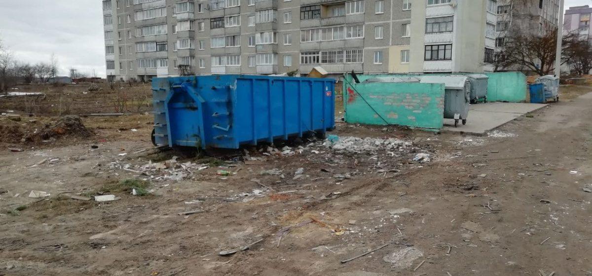 Вопрос-ответ. Почему не в каждом дворе есть контейнер для крупногабаритного мусора?