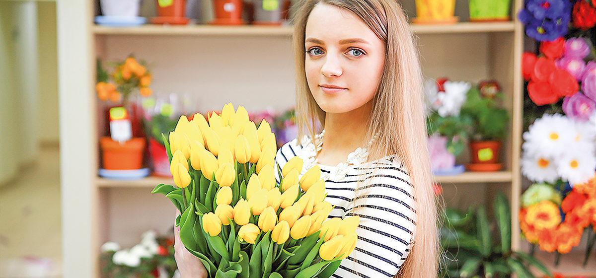 Где в Барановичах выбрать цветы и подарки к 8 Марта*