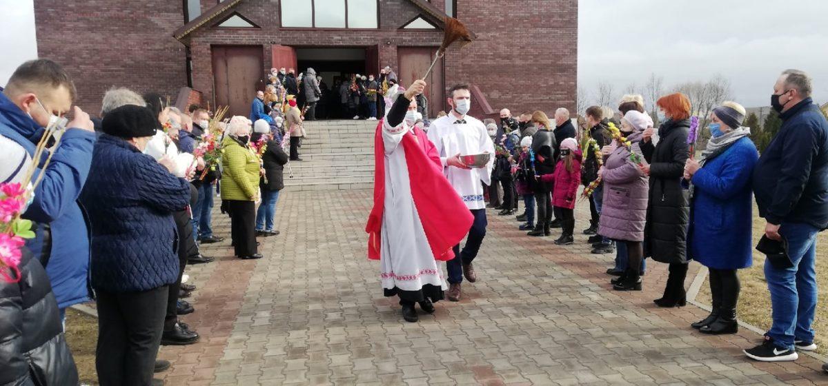 Как Вербное воскресенье празднуют католики в Барановичах. Фоторепортаж