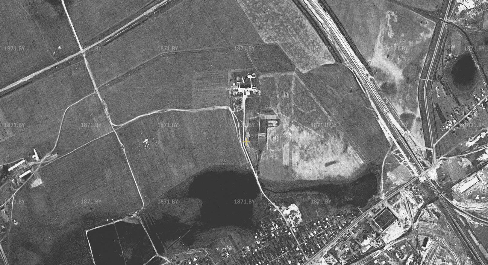 Спутниковая съемка города Барановичи, 1966