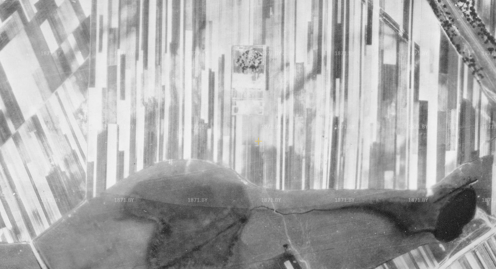 Аэрофотосъемка города Барановичи, 1942