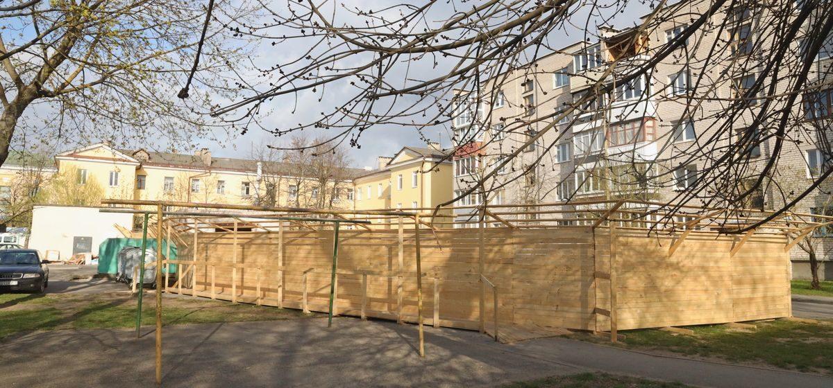 Что будет в заброшенном здании в центре Барановичей?