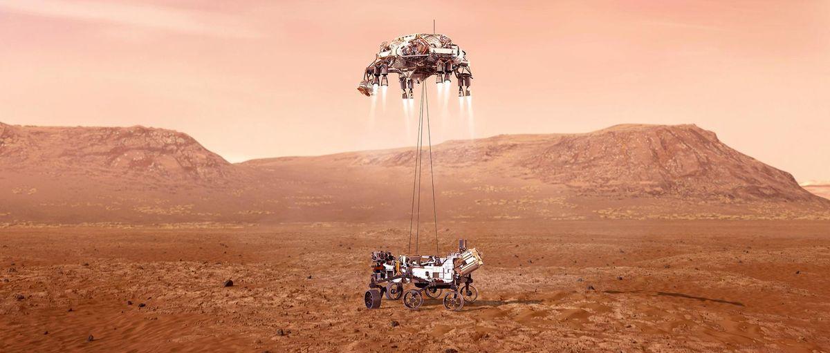 На Марсе впервые получили кислород из атмосферы планеты