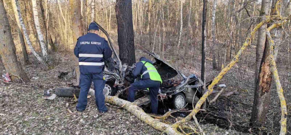 Автомобиль Nissan вылетел в кювет и врезался в дерево в Пинском районе – погибли два человека