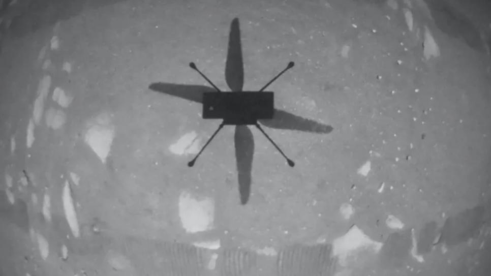 Посмотрите на первый в истории полет дрона на Марсе. Видео